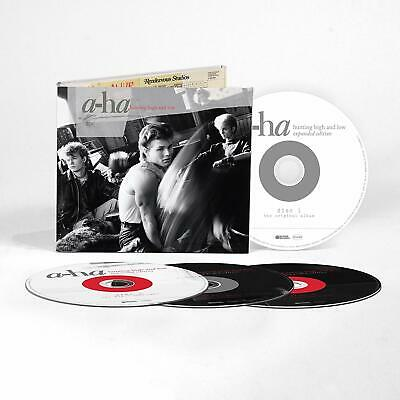 A-HA HUNTING HIGH AND LOW 4 CD EXPANDED EDITION (Released On 15/11/19)