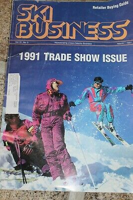 1991 Ski Business Retailer Buying Guide Trade Show Issue