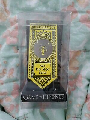 Game of Thrones House Greyjoy We Do Not Sow Oversized Banner Pin Culturefly