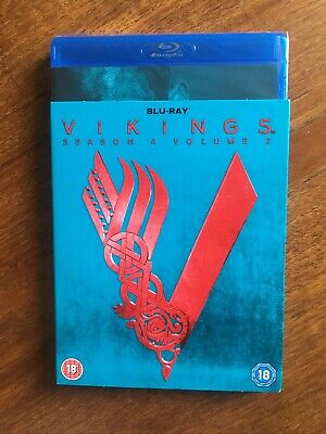 Vikings: Season 4 - Volume 2 [Blu-ray] New/ Sealed