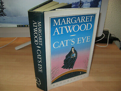 Margaret Atwood Cat's Eye Signed 1989 1st/1st Booker Prize Winner for Testaments