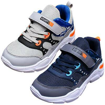 Kids Boys Mesh Sports Athletic Running Shoes Breathable School Walking Sneakers
