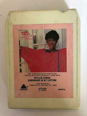 PHYLLIS HYMAN Somewhere In My Lifetime AT84202 8 Track Tape