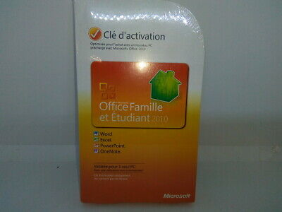 Microsoft Office Home & Student 2010 (French edition)