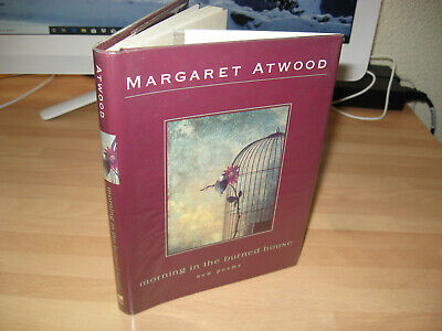 Margaret Atwood Morning in the Burned House Signed 1st poems Booker Prize Winner