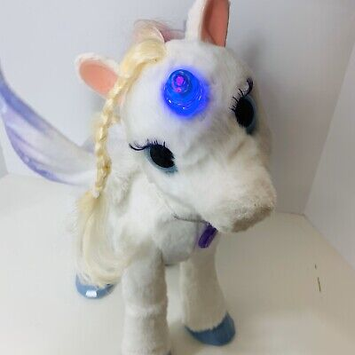 FurReal Friends StarLily My Magical Unicorn Horse Star Lilly Lily Fur Real Horse