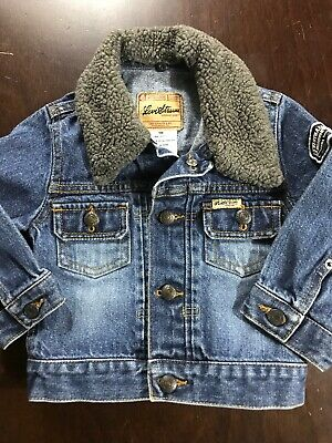 Levi Strauss & Co Toddler Size 18 Months Boys Jean Jacket Coat Snap Closure