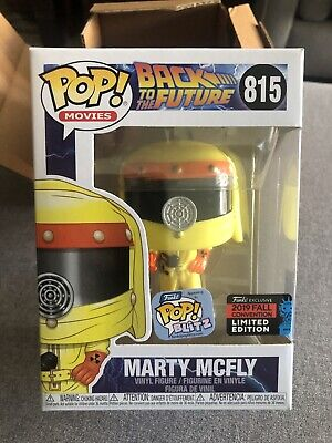Nycc 2019 Funko Pop! Movies: Back To The Future Marty Mcfly Vulcan Pop Blitz Le