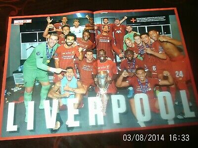 Liverpool team super cup winners & Manchester united maguire man city v spurs