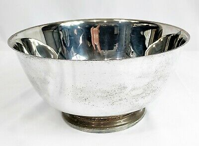 """Paul Revere Reproductions 8"""" Silversmith Bowl By Oneida Silver Plated"""