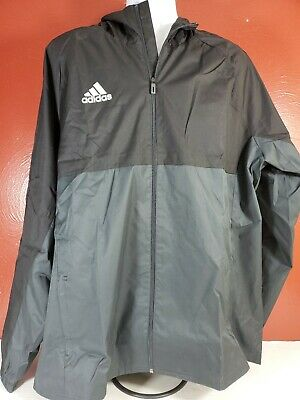 adidas Men's Tiro 17 Rain Jacket Black AY2889 Size XXL Double Extra Large