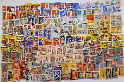 More Than 200 Czechoslovakian Matchbox Labels from 1958