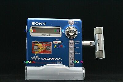 Sony Mz N707 Minidisc Player Net Md With Microphone..