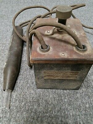 Antique RenuLife Generator 1919 Violet Ray Wand Medical Device Damaged *READ