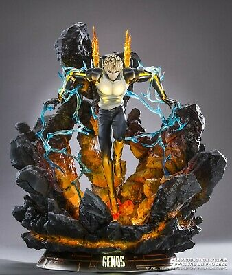 Tsume One Punch Man Genos HQS Statue 1/6 Scale Figure New US Seller Brand New