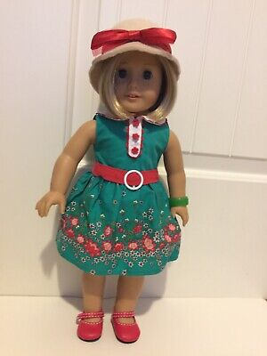 American Girl Doll Kit- With Box- Includes Book, Hat, and Bracelet