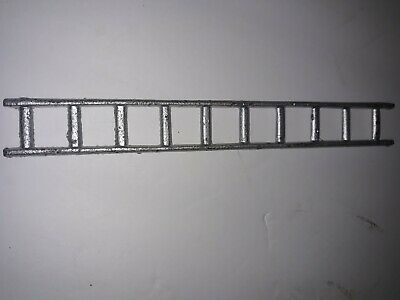 Antique Cast Iron Fire Man Ladder Part Old Toy Horse Drawn Wagon Metal 7 1/2 x 1