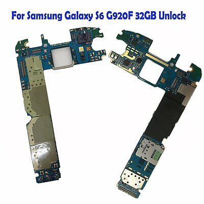 For Samsung Galaxy S6 G920F 32GB Unlocked High Quality Main Motherboard Replace