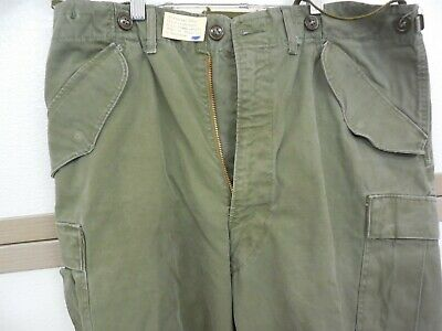 lot o 5 M1951 X-Large regular mens FIELD trousers pants LINERS cold weather NOS!