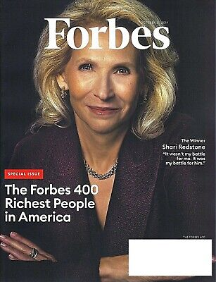 Forbes Magazine October 2019- Special Issue-Forbes 400 Richest People In America