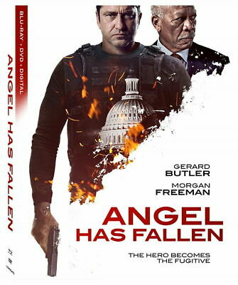 Angel Has Fallen - BLU-RAY ONLY with case/artwork Ships 11/26***FREE SHIPPING***