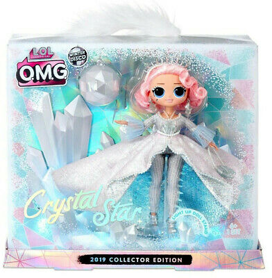 *New* LOL Surprise OMG Crystal Star Collector Edition Doll Winter Disco Limited