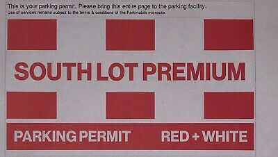 Chicago Bears Vs. Los Angeles Chargers Premium South Lot Parking Pass On Oct. 27