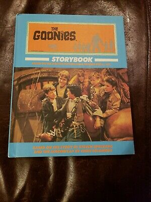 The Goonies Storybook 1985 Vintage 1980s Movie Film Photo Hardcover Story Book !