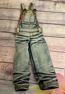 Washed Distressed Jean Overalls for NEO BLYTHE Dolls by TTYA