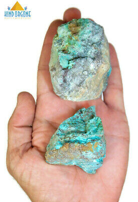 Chrysocolla Raw Crystals 9oz Rough Stone Rock Healing Crystal (CRP)