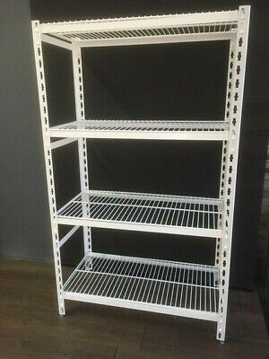Coolroom Antimicrobial Powder Coated Shelving with Wire Shelves 2000H x 525W