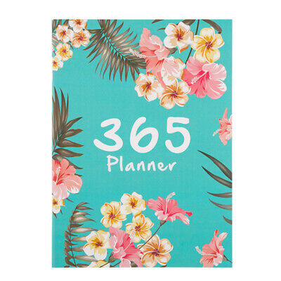 DIY A4 Daily Weekly Annual Planner Notebook Plan 2020 Organizer Office schedule