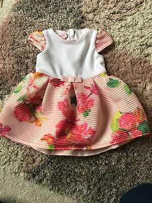 Girls Ted Baker Stunning Christmas Party Dress  Age 9-12 Months