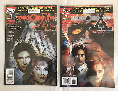 X-Files #1-18, 20, Annual #1 & Special Edition #1 (US - Topps) Fine cond