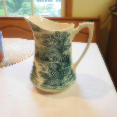 Wonderful Antique Alfred Meakin *Tintern* Milk Pitcher Fantastic Shape