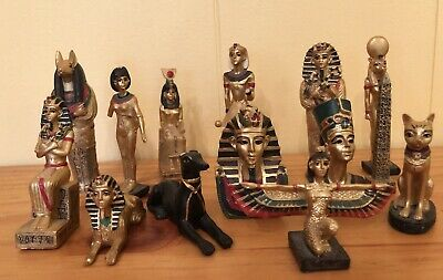 Egyptian Themed Collectable Miniatures Set 14