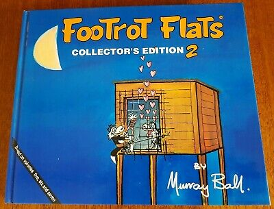 Footrot Flats Hardcover Collectors Edition #2 1989 Based on Volumes 5, 6 & 7