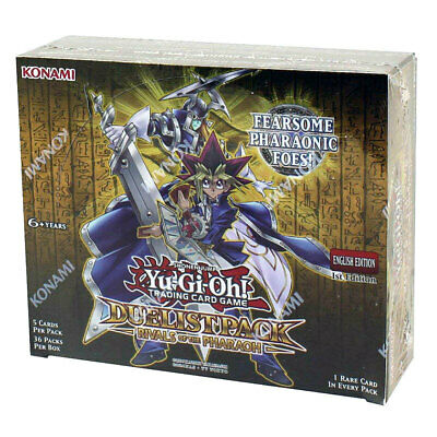 Yugioh TCG Rivals of the Pharaoh Duelist Pack Booster Box Factory Sealed