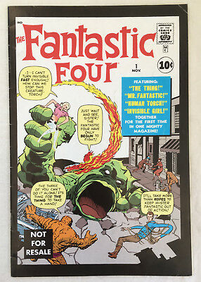Fantastic Four #1 (US - Marvel Legends Reprint) Fine cond, 3 pedestrians cover