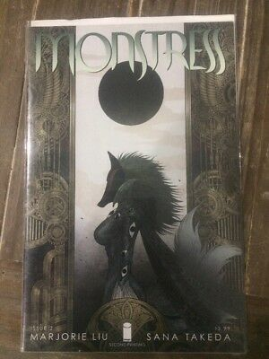 Monstress Variant Comic 2,3 2nd Printing Rare