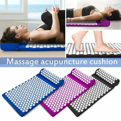 Massage Acupressure Mat Yoga Shakti Sit Lying Mats Pain Stress Soreness Relax