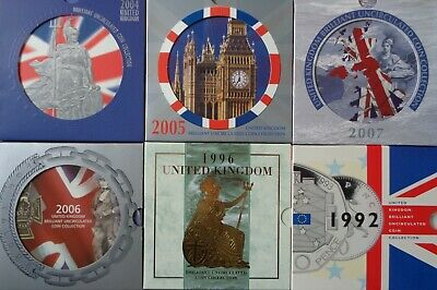 1982-2008 Royal Mint BU Brilliant Uncirculated Coin Year Set - Choose Your Year