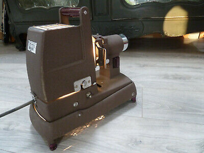 Vintage Industrial Metal 1950s Kershaw Model 250 Strip Projector Slide Projector