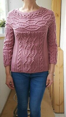 Wool Hand Knit pullover