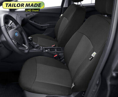 Left hand drive tailored front seat covers for Ford Focus II , III LHD