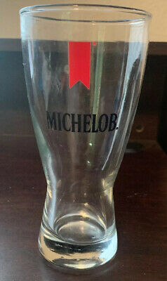 """Vintage Michelob Beer 6"""" Tall Bar Glass"""