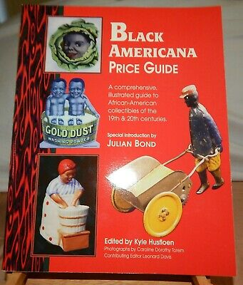 1996 Black Americana Price Guide Softcover Book - By Kyle Husfloen