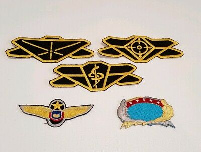 Babylon 5 Patch Collection Sci Fi Costume Cosplay Patches
