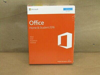 Microsoft Office Home & Student 2016 Windows, for 1 PC, English