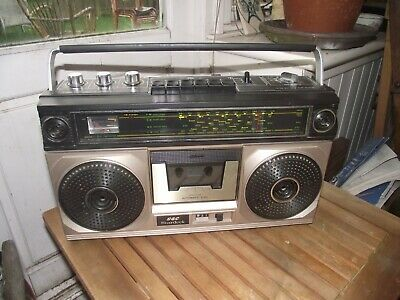 GEC STARDECK R 9002h Vintage RARER 4 BAND RADIO CASSETTE  BOOMBOX  FULLY WORKING